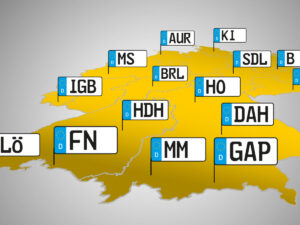 Автомобильные номера Германии полный список