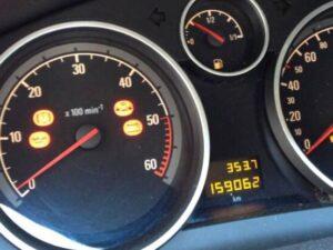 Ошибки Opel Astra