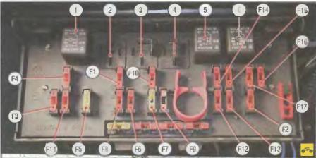 Блок предохранителей ВАЗ 21074 инжектор